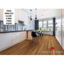 PISO VINILICO CLICK LINEA PINAR 4 MM. SPC PINO VISBY