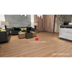 PISO VINILICO MAX CORE SPC TRAFFIC ROBLE ESCANDINAVO  4 MM. XM2.
