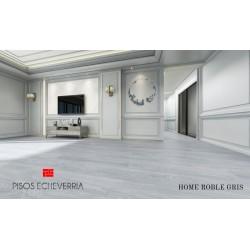 PISO VINILICO MAX CORE SPC COLECCIÓN HOME ROBLE GRIS  4 MM. XM2.