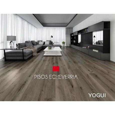 PISO VINILICO SPC YOGUI 4,5 MM. (3.5 +1 EVA INCORPORADA) XM2.